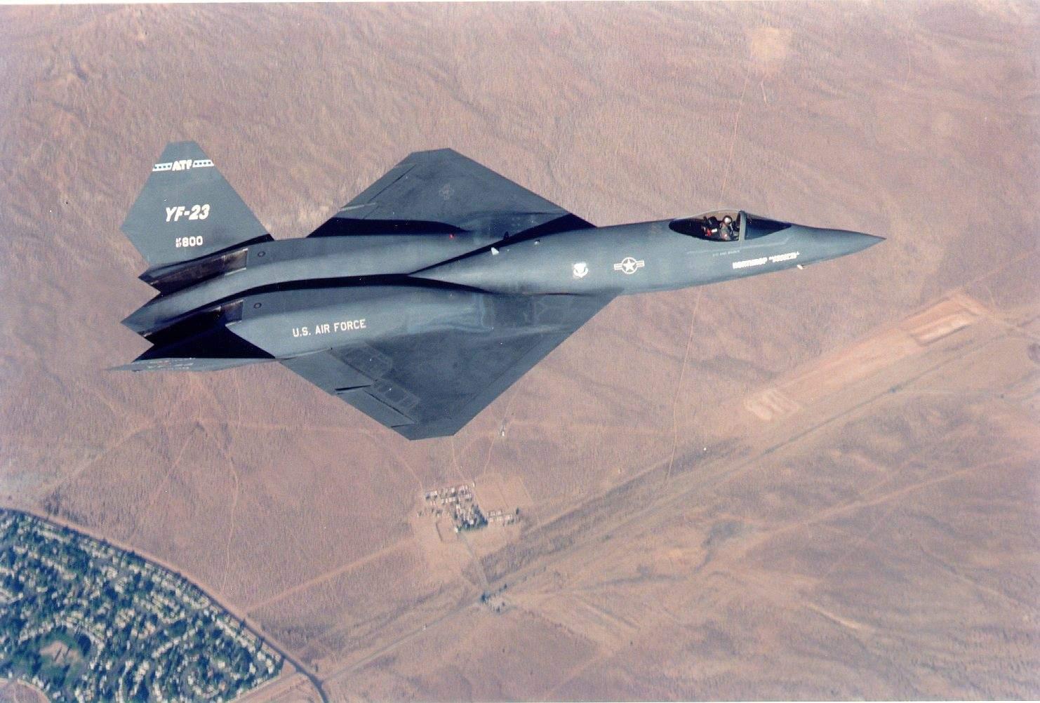 F23 Fighter Car Interior Design