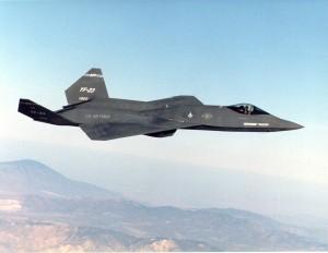 YF-23 PAV1 in flight